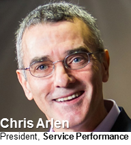 Chris Arlen, President, Service Performance